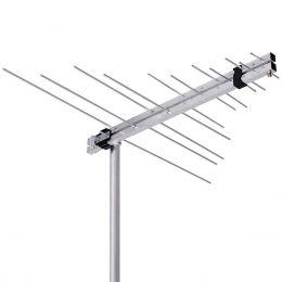 LVU11 - Antena Externa Log Periódica VHF/FM/UHF/HDTV LVU 11 Aquário
