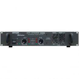 WPOWER3300 - Amplificador Est�reo 2 Canais 825W W POWER 3300 - Ciclotron