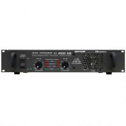 WPOWER4500 - Amplificador Est�reo 2 Canais 1125W W POWER 4500 - Ciclotron