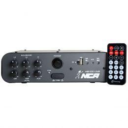 AB100USB - Amplificador Som Ambiente c/ USB 100W AB 100 USB - NCA