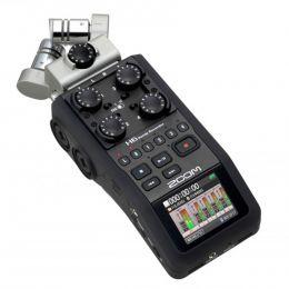 H6 - Gravador Digital de Áudio H 6 - Zoom