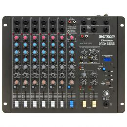AMW8ESD - Mesa de Som / Mixer 8 Canais USB AMW 8 ESD - Ciclotron