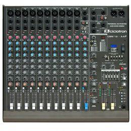 CSM12A4F - Mesa de Som / Mixer 12 Canais USB CSM 12 A 4 F - Ciclotron