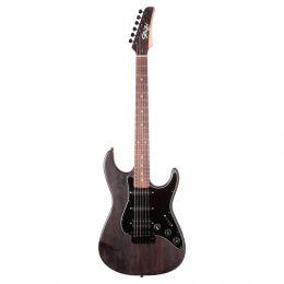 Guitarra Stone Satin Black Seizi c/ Escudo Preto - Seizi