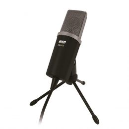 Podcast100 - Microfone c/ Fio p/ Estúdio P2 Podcast 100 - SKP