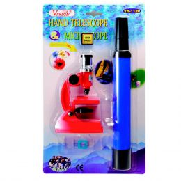 WH1120 - Kit Microscópio Monocular + Luneta WH 1120 - CSR
