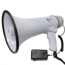 GVB1503 - Megafone 20W c/ Microfone de Mão e Sirene GVB 1503 - GVB