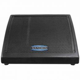 Monitor Passivo 250W MS 12 Preto - SoundBox