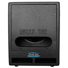 SW12 - Subwoofer Ativo 500W SW 12 Preto - SoundBox