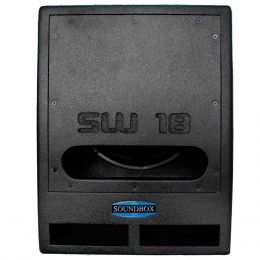 SW18 - Subwoofer Ativo 1000W SW 18 Preto - SoundBox
