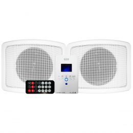 Kit Amplificador Som Ambiente 30W + Caixa Passiva Multim�dia Wall Player - WLS