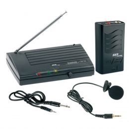 VHF755 - Microfone s/ Fio Lapela e Instrumento VHF 755 - SKP