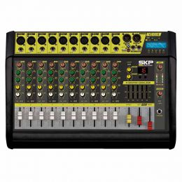 VZ100II - Mesa de Som / Mixer 10 Canais USB e Bluetooth VZ 100 II - SKP