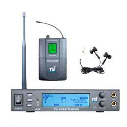 Ponto Eletrônico s/ Fio c/ Fone In-ear PONTO IEM8 - TSI