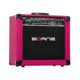 G70 - Amplificador Combo p/ Guitarra 20W Strike G 70 Rosa - Borne