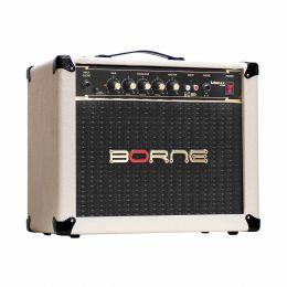 Vorax630 - Amplificador Combo p/ Guitarra 25W Vorax 630 Creme - Borne