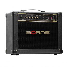 Vorax1050 - Amplificador Combo p/ Guitarra 50W Vorax 1050 Preto - Borne