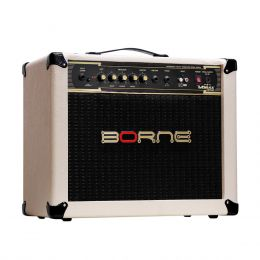 Vorax1050 - Amplificador Combo p/ Guitarra 50W Vorax 1050 Creme - Borne