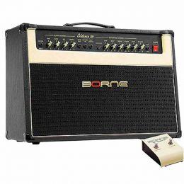 Evidence100 - Amplificador Combo p/ Guitarra 100W Evidence 100 Preto - Borne