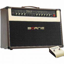 Evidence100 - Amplificador Combo p/ Guitarra 100W Evidence 100 Marrom - Borne
