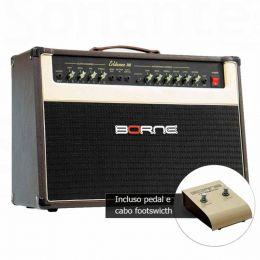 Amplificador Combo p/ Guitarra 150W Evidence 200 Marrom - Borne