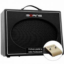 Classic12100 - Amplificador Combo p/ Guitarra 100W Stilo Classic 12100 Preto - Borne