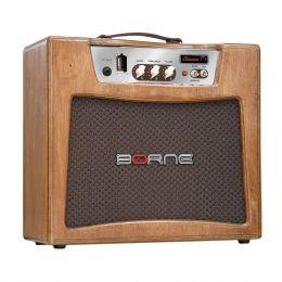 Cl�ssicoT7 - Amplificador Combo Valvulado p/ Guitarra 7W Cl�ssico T7 Naval - Borne