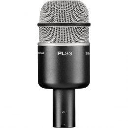 PL33 - Microfone c/ Fio p/ Bumbo PL 33 - Electro-Voice