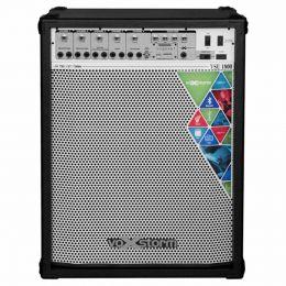VSU1800 - Cubo Multiuso Ativo 150W c/ Bluetooth e USB VSU 1800 Preto - Voxstorm