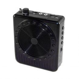 BQ810 - Kit Professor Port�til c/ Caixa + Microfone c/ Fio BQ 810 Preto - Boas