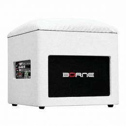 Caixa Ativa 60W c/ Bluetooth e USB Lounge Cube Branca - Borne