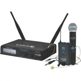 UHXPRO02MHLI - Microfone s/ Fio Headset / Instrumento / Lapela / Mão UHX PRO 02 MHLI - Lyco