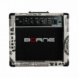Amplificador Combp p/ Guitarra Strike G30 Jornal - Borne