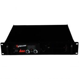 Amplificador Estéreo 2 Canais 2000W LA 10.000 - Leacs