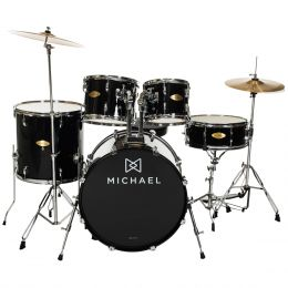 Bateria Acústica Bumbo 20 Pol - Audition DM 827 BK Michael