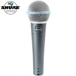 Beta58A - Microfone c/ Fio de Mão Beta 58A - Shure