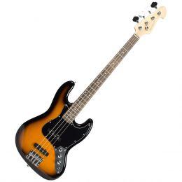 Contrabaixo 4 Cordas Passivo Jazz Bass BM607 SK Sunburst Black - Michael