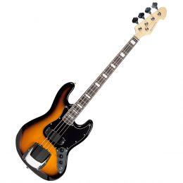 Contrabaixo 4 Cordas Passivo Jazz Bass BM675 SK Sunburst Black - Michael