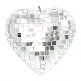Coração Espelhado 10cm LCO 10 - Lumyna Light