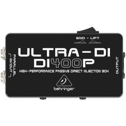 DI400P - Direct Box Passivo Ultra-DI DI 400P - Behringer