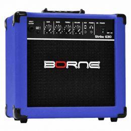G30 - Amplificador Combo p/ Guitarra Strike G 30 Azul - Borne