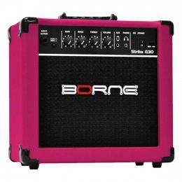 G30 - Amplificador Combo p/ Guitarra Strike G 30 Rosa - Borne