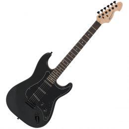 Guitarra Strato Standard GM217N MBA Preta Metálica - Michael