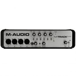 Interface de �udio 4 Canais USB M-Track Quad - M-Audio