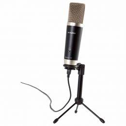 Kit Microfone USB + Software para Estúdio de Gravação Vocal Studio - M-Audio