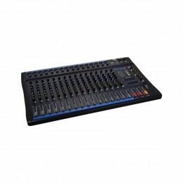Mesa de Som 16 Canais XLR Balanceados c/ USB / Efeito / Phantom / 1 Auxiliar - OMX 1602 Oneal