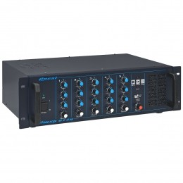 Mesa de Som 5 Canais P10 Balanceados c/ 180W - OMXP 612 N Oneal