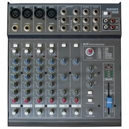 Mesa de Som 8 Canais (4 XLR Balanceados + 4 P10) c/ 240W / Efeito / Phantom / 1 Auxiliar - 8240 PD CSR