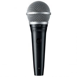 Microfone c/ Fio de Mão PGA48-LC - Shure