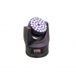 Moving Head 36 Leds 108W RGB Com Case DMX 8 Peças X LED 336 - PR